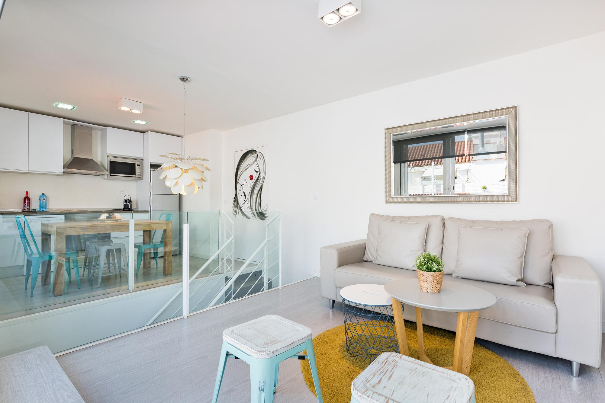 Apartamento Sitges Blue & White Penthouse 1