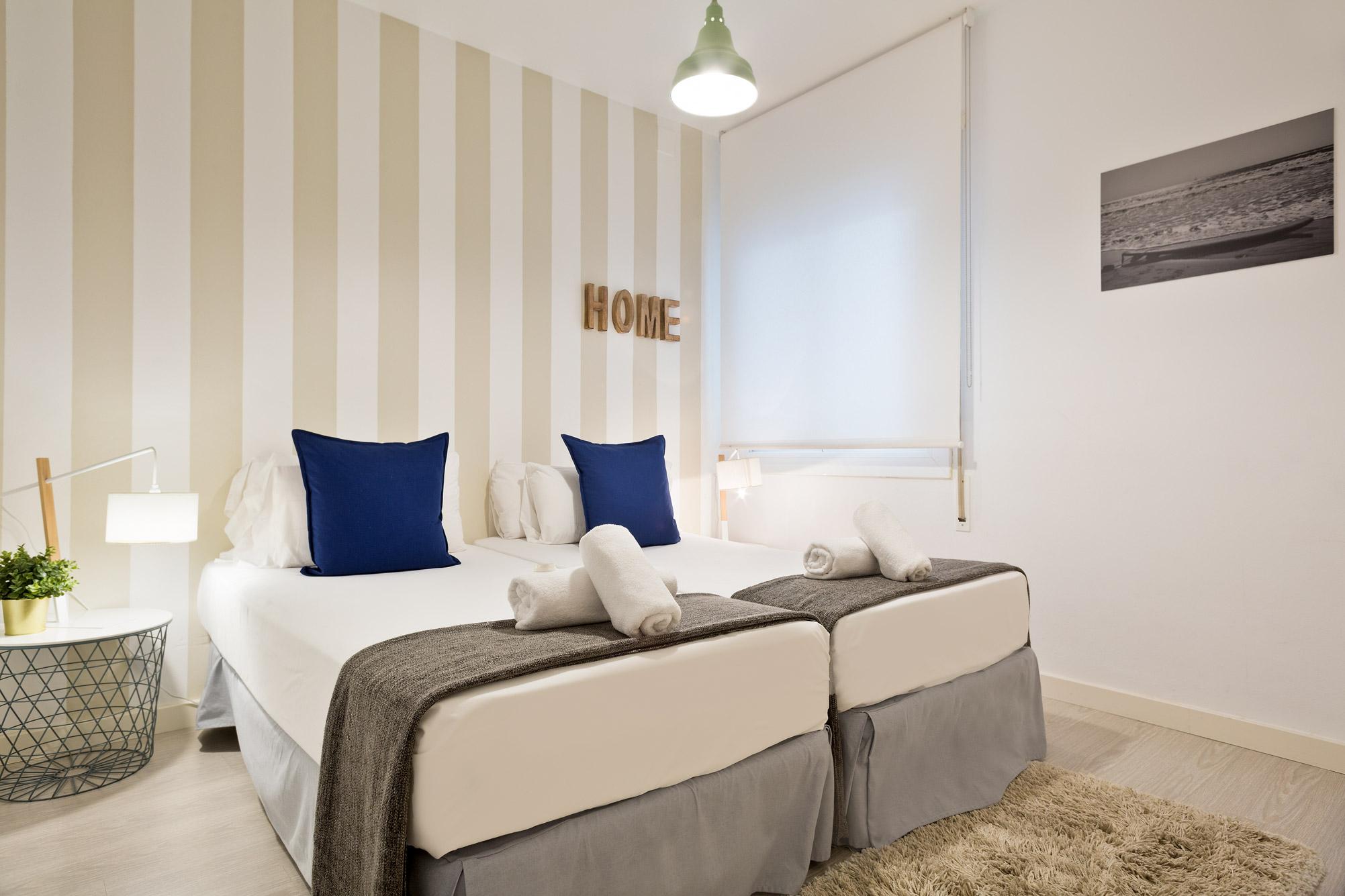 Apartamento Sitges Blue & White 1b