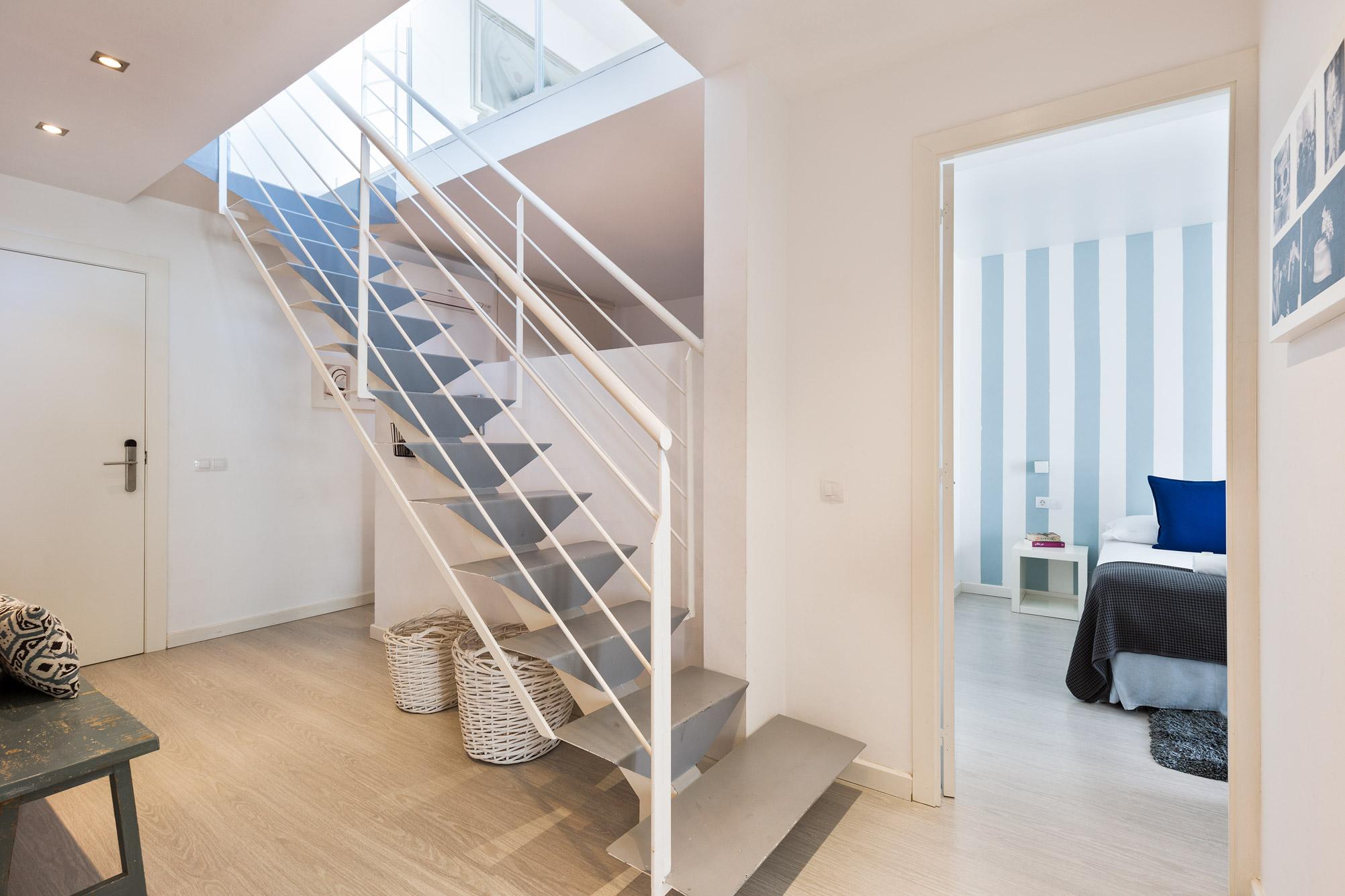 Apartment Sitges Blue & White Penthouse 1