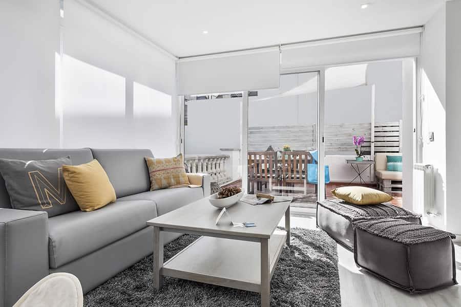 Apartment Sitges Blue & White 1a