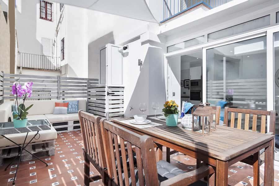 Appartement Sitges Blue & White 1a