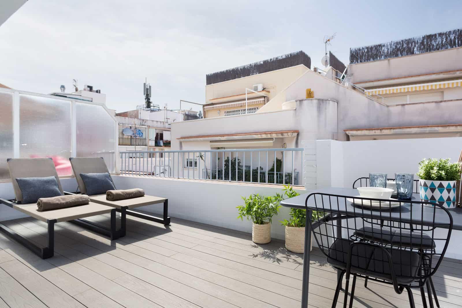Apartament Sitges Calm Beach Penthouse 1