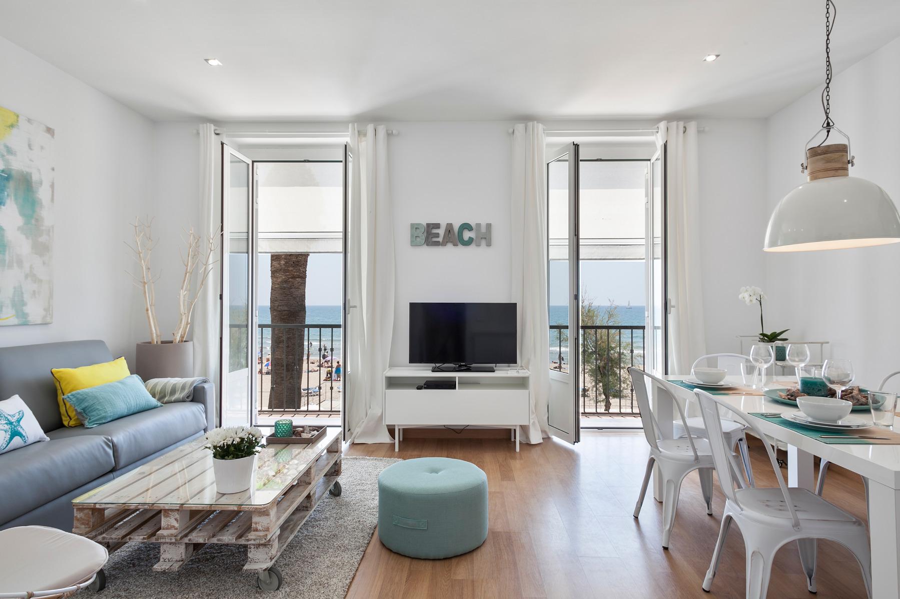 Apartamento en sitges ocean blue 3 - Apartamentos mediterraneo sitges ...